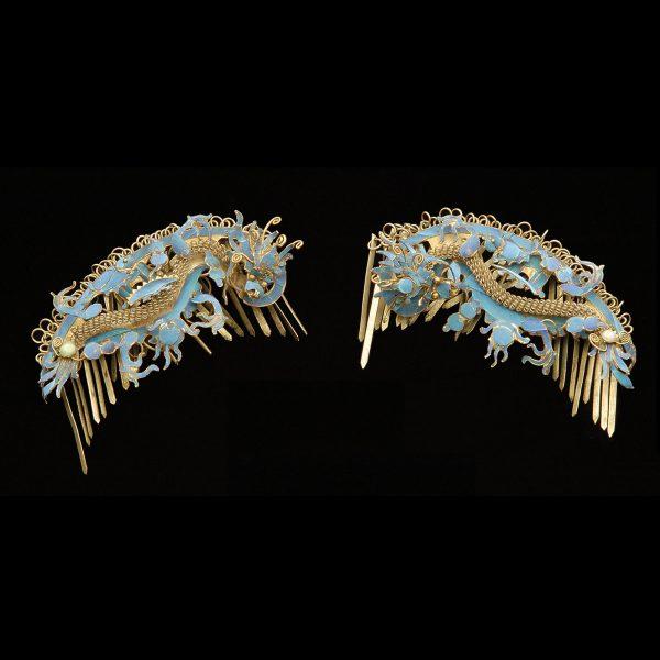 Manchu ladies hairpins