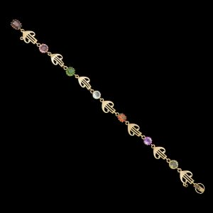 Australian Arts and Crafts 15ct gold bracelet