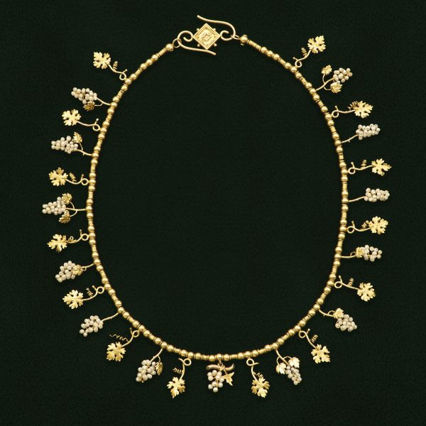 A nineteenth century 18ct gold necklace